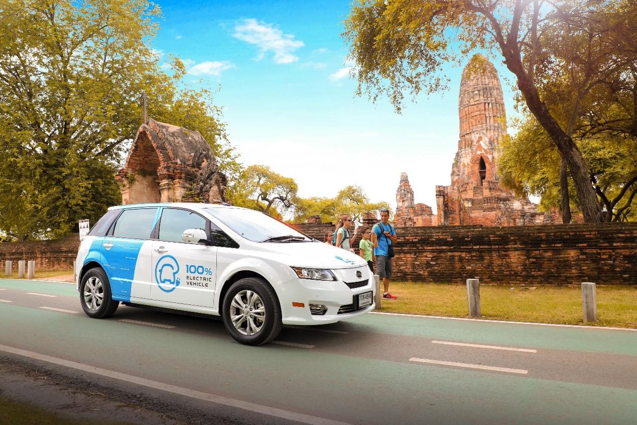 作为治理曼谷空气污染的重磅举措之一,此次交付的e6车队即是作为vip出
